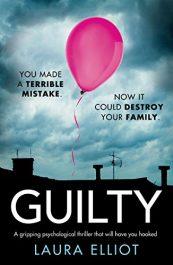bargain ebooks Guilty Psychological Thriller by Laura Elliot