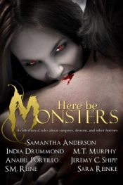 bargain ebooks Here Be Monsters Horror by Multiple Authors
