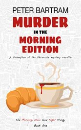 bargain ebooks Murder in the Morning Edition Crime Thriller by Peter Bartram