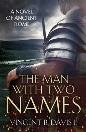 bargain ebooks The Man with Two Names Historical Thriller by Vincent B. Davis II