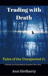 bargain ebooks Trading With Death Mystery by Ann Girdharry