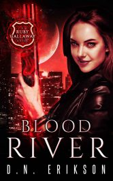 Blood River Horror Fantasy by D.N. Erikson
