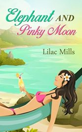 Elephant and Pinky Moon Romance by Lilac Mills