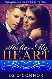Shelter My Heart New Adult Romance / Suspense by LG O'Connor