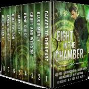bargain ebooks Eight in the Chamber: Urban Fantasy/Sci-Fi Box Set Scifi Fantasy Mystery by Matt Abraham