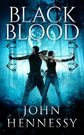bargain ebooks Black Blood YA SciFi Adventure by John Hennessy
