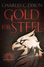 bargain ebooks Gold For Steel Fantasy by Charles Dixon