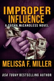 bargain ebooks Improper Influence Thriller by Melissa F. Miller