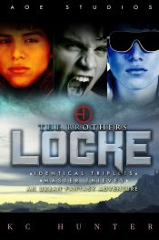 bargain ebooks The Brothers Locke Fantasy Action/Adventure by KC Hunter