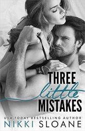 bargain ebooks Three Little Mistakes Erotic Romance by Nikki Sloane