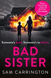 bargain ebooks Bad Sister Mystery by Sam Carrington