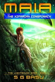 amazon bargain ebooks Maia and the Xifarian Conspiracy  Young Adult Teen Science Fiction by S.G. Basu