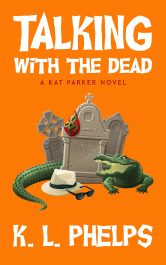 bargain ebooks Talking with the Dead Cozy Paranormal Mystery by K.L. Phelps