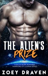 bargain ebooks The Alien's Prize SciFi Romance by Zoey Draven