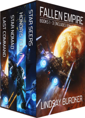 bargain ebooks The Fallen Empire Collection Books 1-3 and prequel Science Fiction by Lindsay Buroker