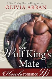 bargain ebooks The Wolf King's Mate Paranormal Romance by Olivia Arran