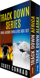 bargain ebooks Track Down Series (Brad Jacobs Thrillers: Books 1-2) Action/Adventure Thriller by Scott Conrad