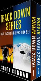 bargain ebooks Track Down Series (Brad Jacobs Thrillers: Books 1-2) Action/Adventure Thriller by Scott Conrad