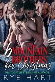 bargain ebooks 6 Mountain Brothers for Christmas Erotic Romance by Rye Hart