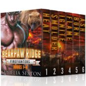 bargain ebooks Bearpaw Ridge, Firefighters: Boxed Set #1 - The Swanson Brothers Paranormal Romance by Ophelia Sexton
