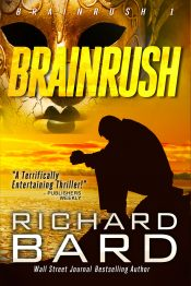 bargain ebooks Brainrush Action/Adventure Thriller by Richard Bard