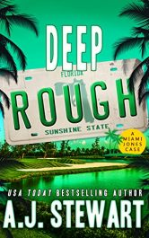 bargain ebooks Deep Rough Action/Adventure Mystery by A.J. Stewart