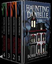bargain ebooks Haunting Danielle: Books 1-4 Supernatural Cozy Mystery by Bobbi Holmes