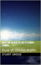 bargain ebooks Into the Black Science Fiction by Stuart Grosse