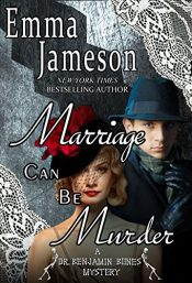 amazon bargain ebooks Marriage Can Be Murder (Dr Benjamin Bones Mysteries Book 1) Cozy Mystery by Emma Jameson