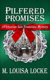 bargain ebooks Pilfered Promises Historical Mystery by M. Louisa Locke