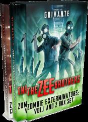 bargain ebooks The Zee Brothers: Zombie Exterminators Box Set Action/Adventure Horror by Grivante