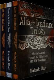 bargain ebooks Alice in Deadland Trilogy Horror by Mainak Dhar