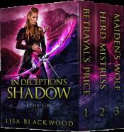 bargain ebooks In Deception's Shadow Fantasy by Lisa Blackwood