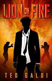 bargain ebooks Lion on Fire: A Casino-Heist Thriller Thriller by Ted Galdi