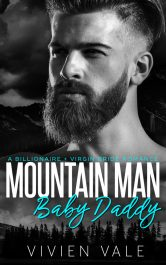 bargain ebooks Mountain Man Baby Daddy Romance by Vivien Vale