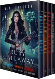 bargain ebooks Ruby Callaway: The Complete Collection Urban Fantasy by D.N. Erikson