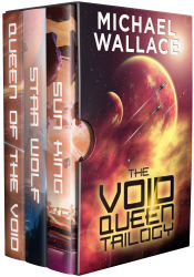 bargain ebooks The Void Queen Trilogy Science Fiction by Michael Wallace