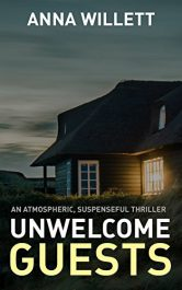 bargain ebooks UNWELCOME GUESTS Thriller by Anna Willett