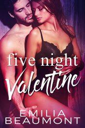 bargain ebooks Five Night Valentine Contemporary Romance by Emilia Beaumont
