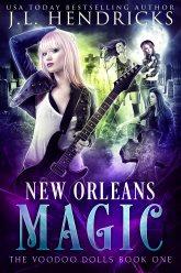 bargain ebooks New Orleans Magic Urban Fantasy by J.L. Hendricks