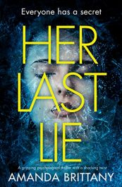 amazon bargain ebooks Her Last Lie Action Adventure Thriller by Amanda Brittany