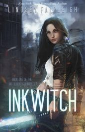 bargain ebooks Ink Witch Urban Fantasy by Lindsey Fairleigh