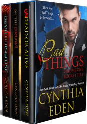 bargain ebooks Bad Things, Volume 1 Romance by Cynthia Eden