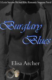 bargain ebooks Burglary Blues Romantic Suspense by Elisa Archer