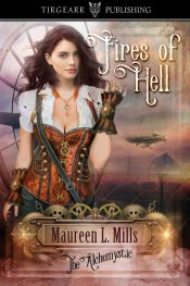 bargain ebooks Fires of Hell Steampunk Science Fiction by Maureen L. Mills