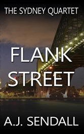 bargain ebooks Flank Street Mystery / Thriller by A.J. Sendall