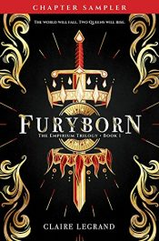 amazon bargain ebooks Furyborn YA/Teen Horror Fantasy by Claire Legrand