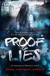 bargain ebooks Proof of Lies Young Adult/Teen Thriller by Diana Rodriguez Wallach