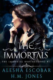 bargain ebooks The Immortals (The Immortal Brotherhood #1) Urban Fantasy by Alesha Escobar, H.M. Jones