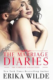 bargain ebooks The Marriage Diaries: The Complete Collection Erotic Romance by Erika Wilde